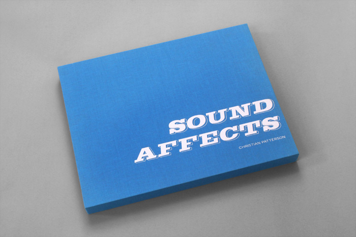 Sound Affects special edition book