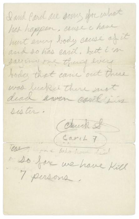 Confession Letter