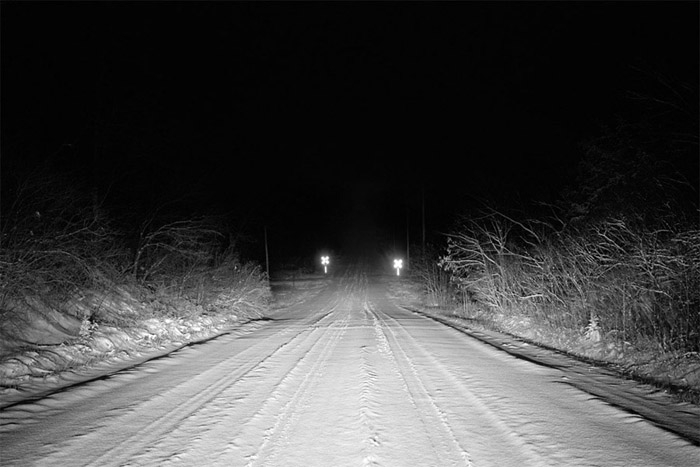 24th Street Road (Road at Night)