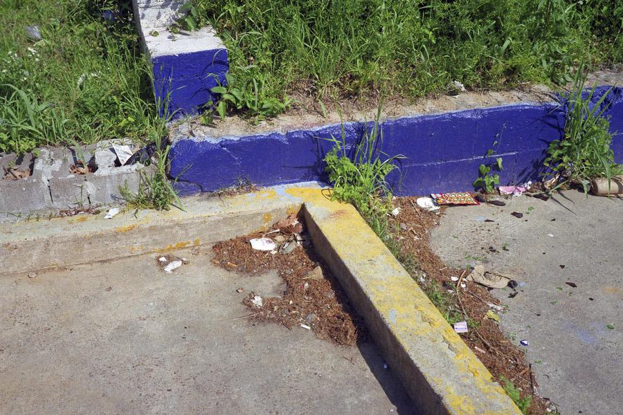 Blue Curb